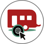 Online-Buchung Wohnwagenvermietung