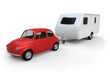 Wohnwagen ziehen mit Führerscheinklasse B